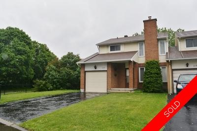 Ottawa Semi Detached for sale:  4 bedroom  (Listed 2018-06-06)