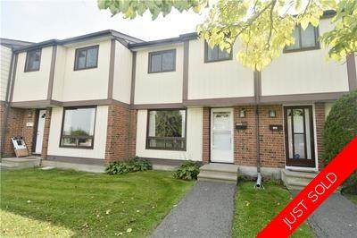 Barrhaven Condo Row Unit for sale:  3 bedroom  (Listed 2018-09-06)