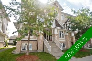 Barrhaven Condo Row Unit for sale:  2 bedroom  (Listed 2018-09-06)
