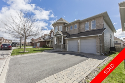 Barrhaven Detached for sale:  5 bedroom  Stainless Steel Appliances, Granite Countertop, Hardwood Floors  (Listed 2017-05-03)
