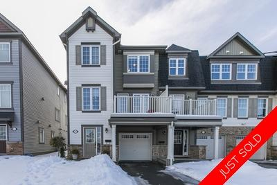 Half Moon Bay - Barrhaven Row Unit for sale:  3 bedroom  Stainless Steel Appliances, Hardwood Floors  (Listed 2020-02-05)